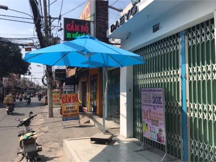 Dù Cafe che nắng Dù chính tâm, lệch tâm, dù tròn- Nội Thất Nguyễn Hoàng1