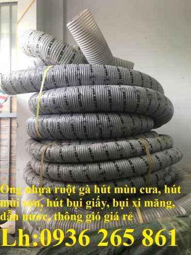 Ống nhựa ruột gà lắp máy hút bụi công nghiệp phi168 hàng cao cấp9