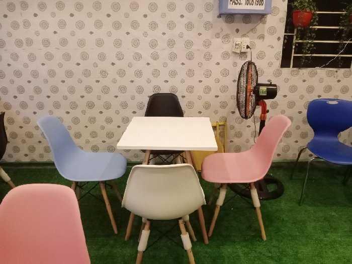 Bộ bàn ghế cafe trà sữa giá rẻ tại kho