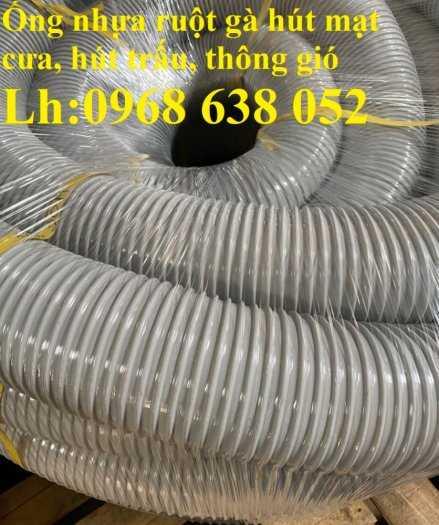 Ống nhựa ruột gà lắp máy hút bụi công nghiệp phi100 chất lượng cao0