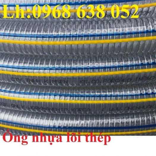 Ống nhựa mềm lõi thép Phi 13 Phi 16 Phi 19 giá tốt nhất Mới 100%, giá25