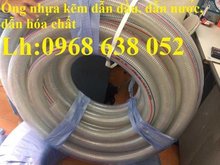 Ống nhựa mềm lõi thép Phi 13 Phi 16 Phi 19 giá tốt nhất Mới 100%, giá12
