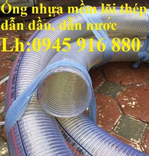 Ống nhựa mềm lõi thép Phi 13 Phi 16 Phi 19 giá tốt nhất Mới 100%, giá9