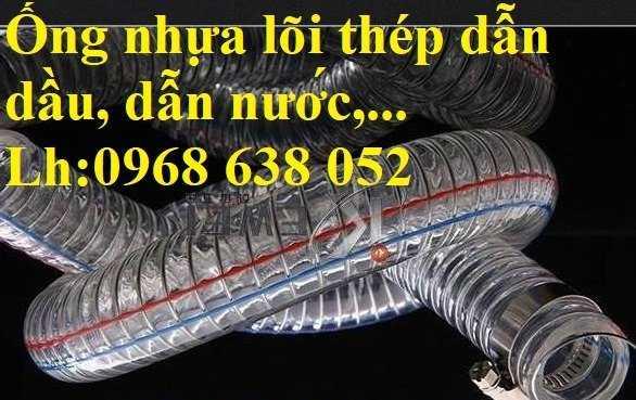 Ống nhựa mềm lõi thép Phi 13 Phi 16 Phi 19 giá tốt nhất Mới 100%, giá8