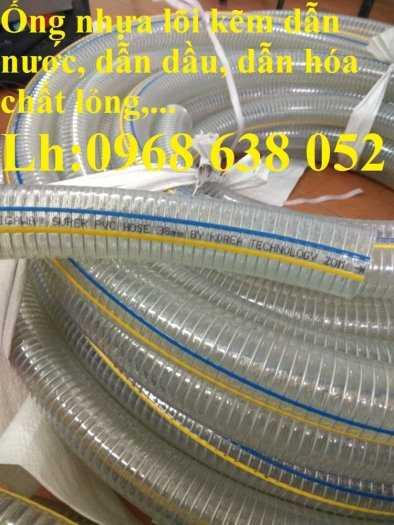 Ống nhựa mềm lõi thép Phi 13 Phi 16 Phi 19 giá tốt nhất Mới 100%, giá0