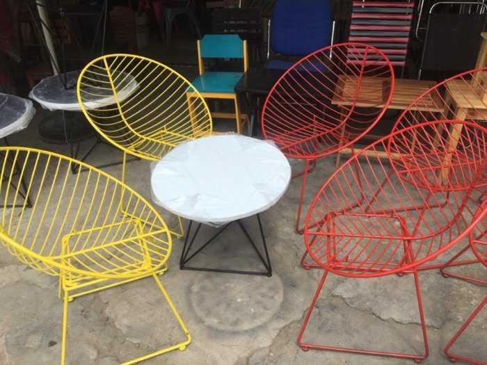 Bộ Bàn Ghế sofa cafe giá tại xưởng sản xuất8