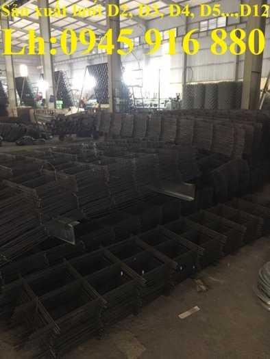Lưới thép hàn đổ sàn bê tông D3, D4, D5, D6, D8, D10 ô lưới 50x50, 100x100, 150x150, 200x200 cường lực cao