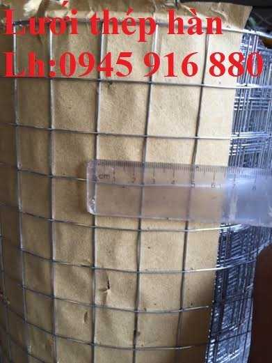 Lưới thép hàn dây 1,5mm, Ô vuông 2,5 cm x 2,5 cm giá tốt4
