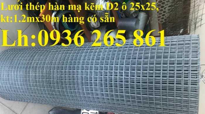 Lưới thép hàn dây 1,5mm, Ô vuông 2,5 cm x 2,5 cm giá tốt2