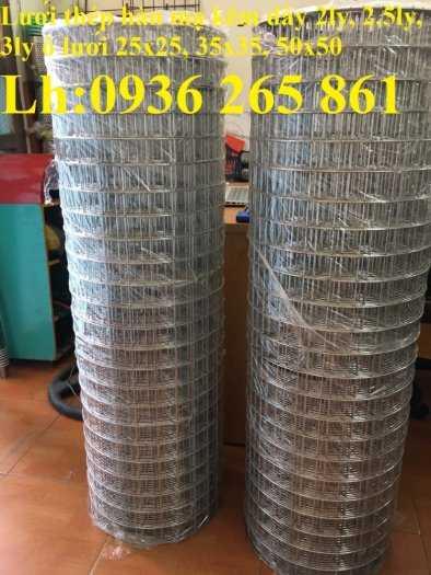 Lưới thép hàn dây 1,5mm, Ô vuông 2,5 cm x 2,5 cm giá tốt0