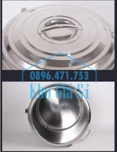 Cung cấp thùng inox 2 lớp giữ nhiệt 20 lít đựng cơm canh nóng16