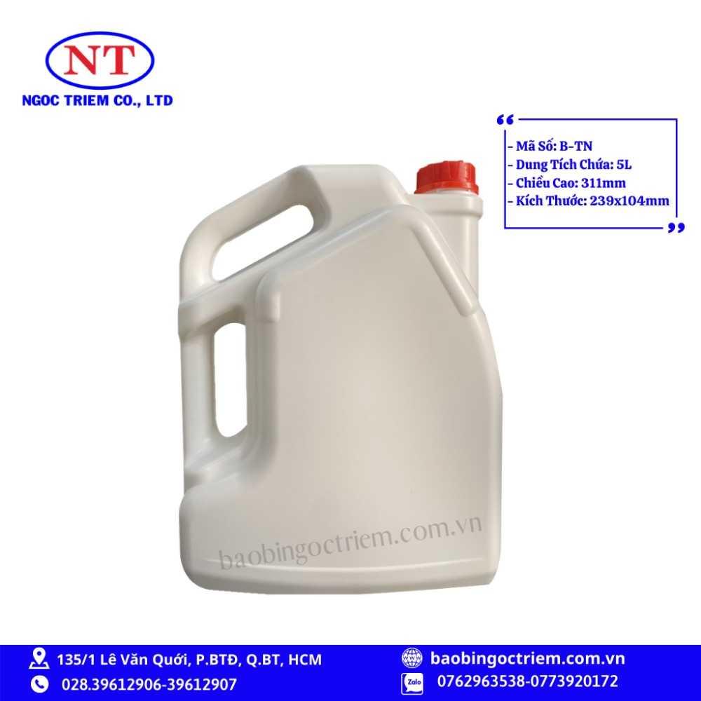 Can Nhựa HDPE 5lít B-TN - BAO BÌ NGỌC TRIÊM0