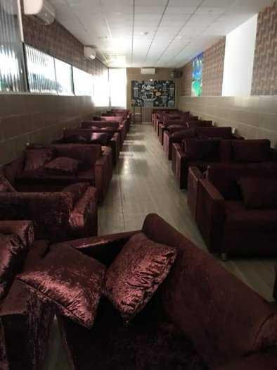 Ghế sofa vải nỉ hiện đại giá rẻ HGH1180