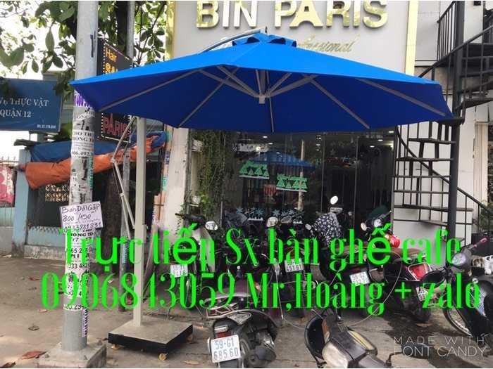 Dù cafe che nắng mưa - Nội thất Nguyễn hoàng0