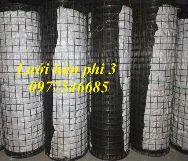 Lưới hàn phi 3 mắt lưới 50x50mm,lưới hàn phi 4 ô lưới 50x50 sản xuất theo yêu cầu4