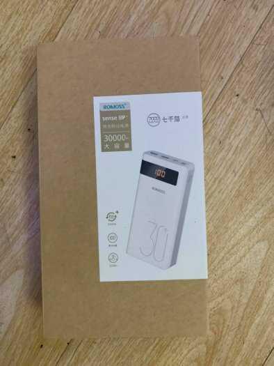 Pin Phòng Romoss Sense 8P+ dung lượng lớn 30000 MAH sạc nhanh 3.0 Có LCD5