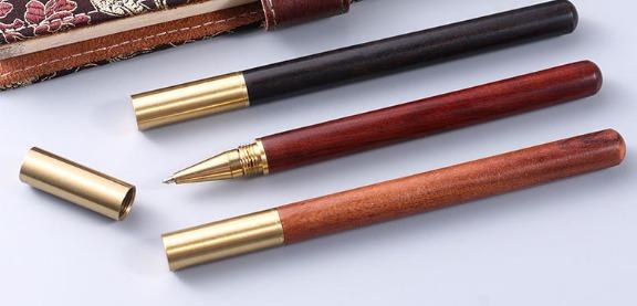 Bút bi gỗ, bút tre,bút dạ vỏ bằng gỗ, bút kí gỗ tre1