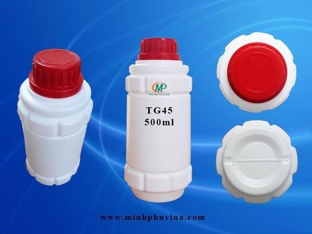 Chai nhựa 500ml đựng hóa chất16