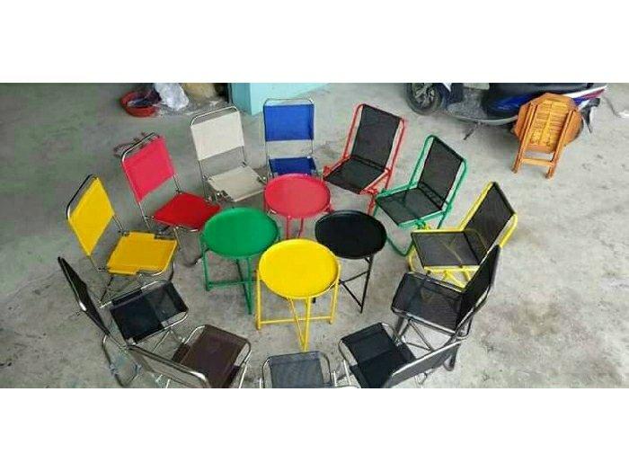 Bàn ghế mini xếp cao cấp Ak 00020