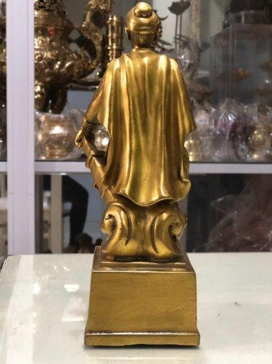 Tượng Trần Quốc Tuấn cao 18.5cm0