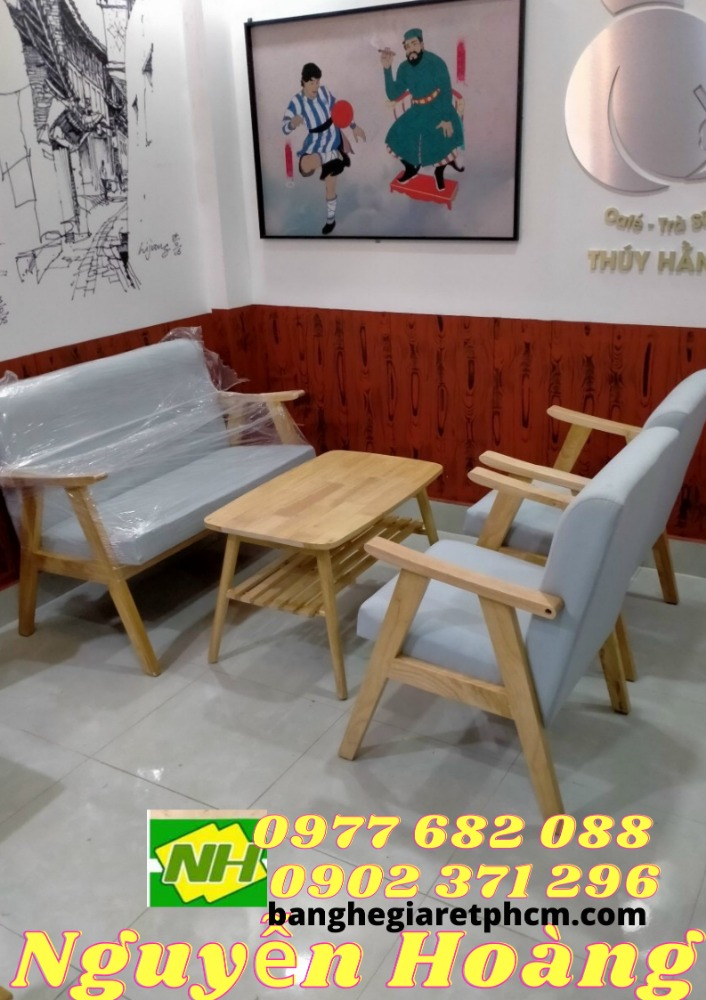 Bàn Ghế Sofa gỗ Nội Thất Nguyễn Hoàng Sài Gòn0