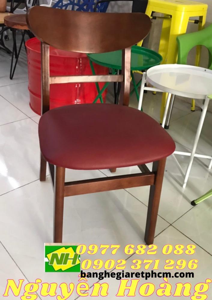 Ghế gỗ mango có tựa lưng bọc nệm Nôi Thất Nguyễn Hoàng Sài Gòn0