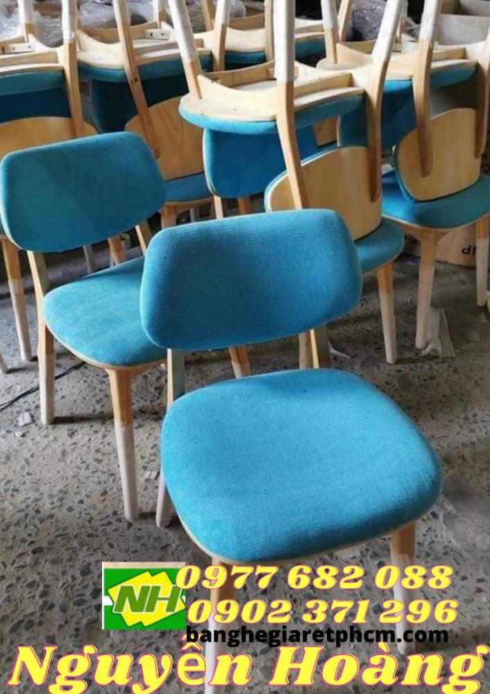 Ghế gỗ bọc nệm Nội Thất Nguyễn Hoàng Sài Gòn0