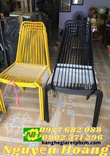 Ghế sắt ngoài trời giá rẻ0