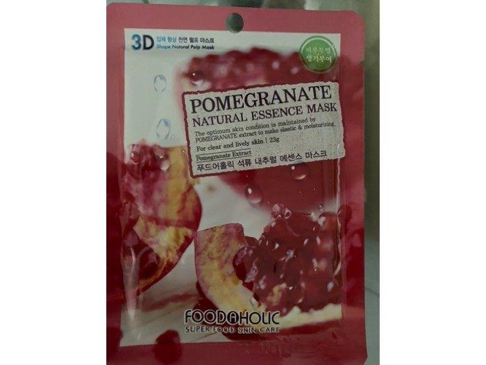 Combo 10 mặt lạ giấy dưỡng da Lựu 3D Pomegranate2
