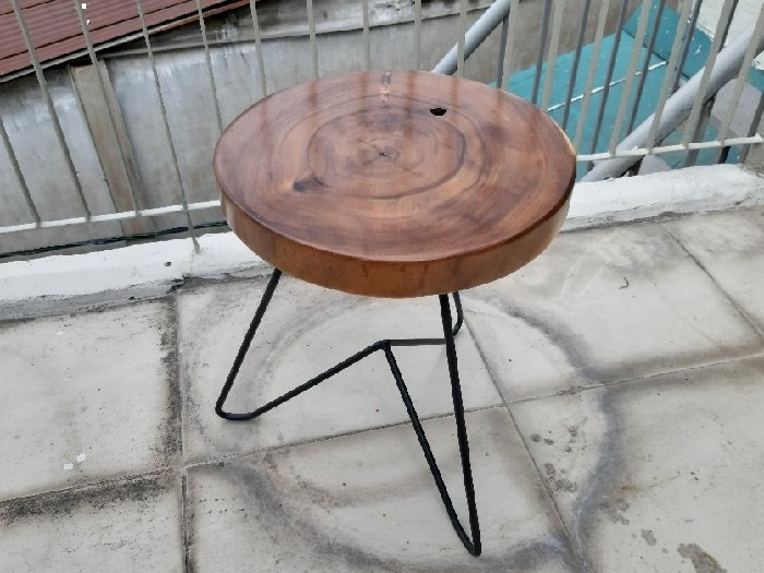 Ghế đẩu nhỏ mặt tròn 30cm0