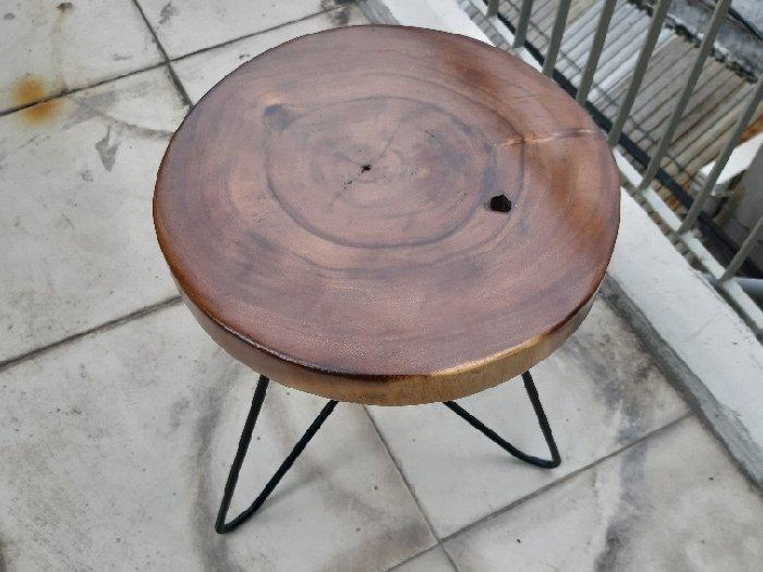 Ghế đẩu nhỏ mặt tròn 30cm1