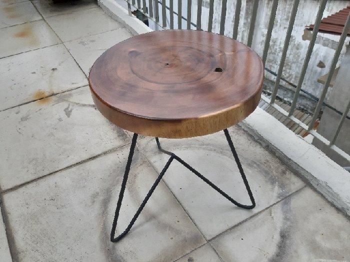 Ghế đẩu nhỏ mặt tròn 30cm2