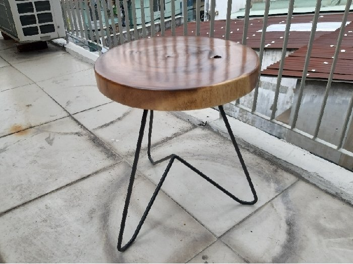 Ghế đẩu nhỏ mặt tròn 30cm3