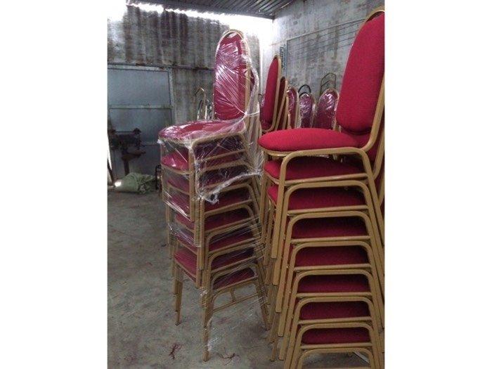 Ghế sắt gỗ nệm nhà hàng giá rẻ0