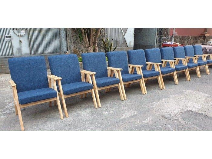 Ghế sofa gỗ nệm giá rẻ - Nội thất Nguyễn hoàng0