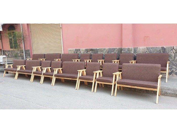 Ghế sofa gỗ nệm giá rẻ - Nội thất Nguyễn hoàng1