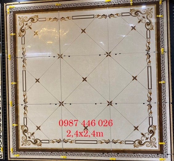 Gạch thảm vuông 2m4X2m4  HP24746