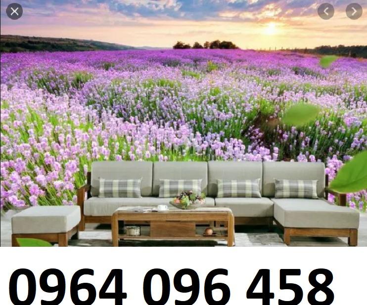 Tranh gạch 3d dán tường vườn hoa - CBV4511