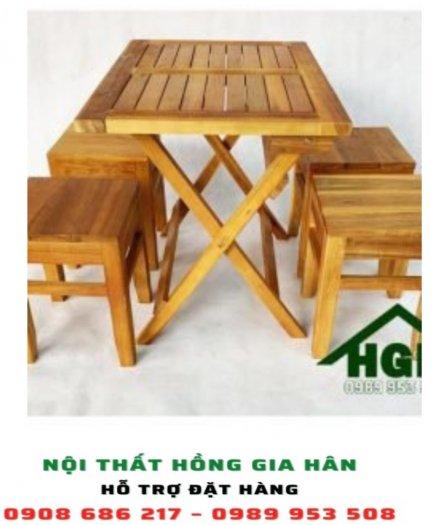 Bàn ghế cafe cóc HGH210