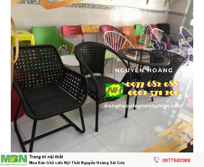 Bàn Ghế cafe Nội Thất Nguyễn Hoàng Sài Gòn 09776820880