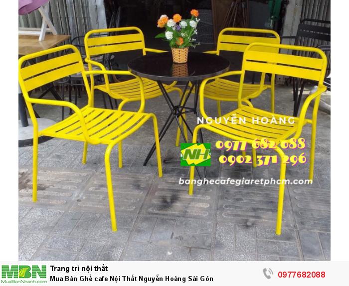 Bàn Ghế cafe Nội Thất Nguyễn Hoàng Sài Gòn 09776820882
