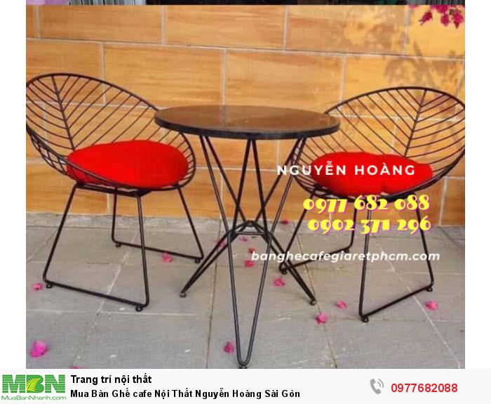 Bàn Ghế cafe Nội Thất Nguyễn Hoàng Sài Gòn 09776820883