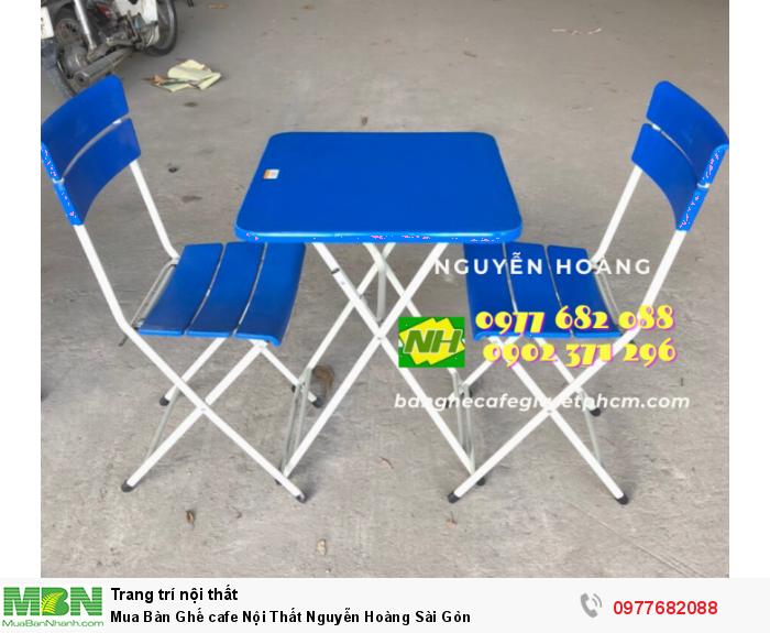 Bàn Ghế cafe Nội Thất Nguyễn Hoàng Sài Gòn 09776820885