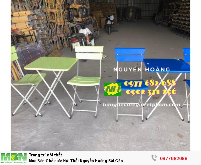 Bàn Ghế cafe Nội Thất Nguyễn Hoàng Sài Gòn 09776820886
