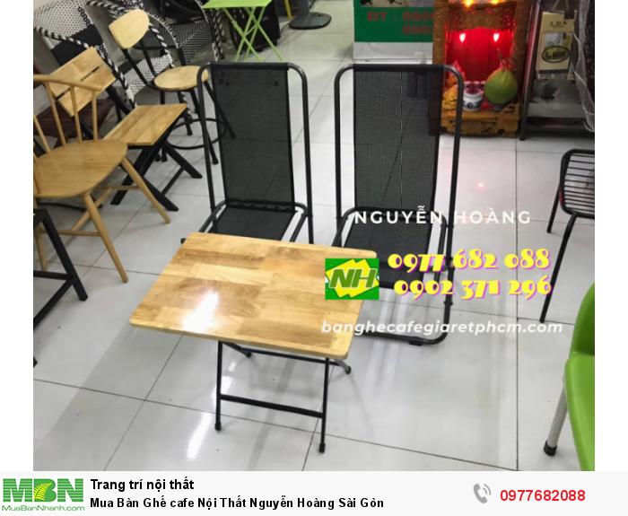 Bàn Ghế cafe Nội Thất Nguyễn Hoàng Sài Gòn 09776820888