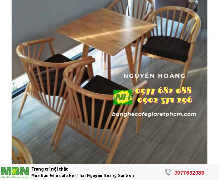Bàn Ghế cafe Nội Thất Nguyễn Hoàng Sài Gòn 09776820889