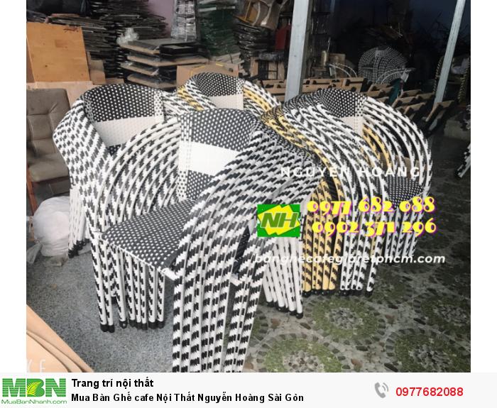 Bàn Ghế cafe Nội Thất Nguyễn Hoàng Sài Gòn 097768208810