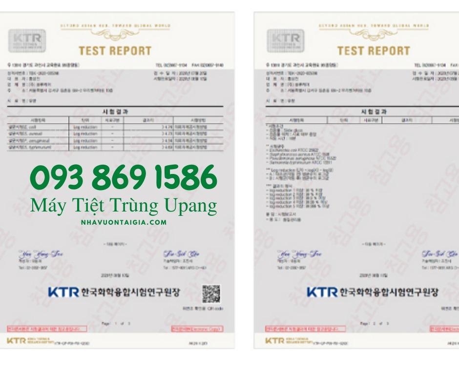 Máy Tiệt trùng Upang Plus Led Hàn Quốc màu12