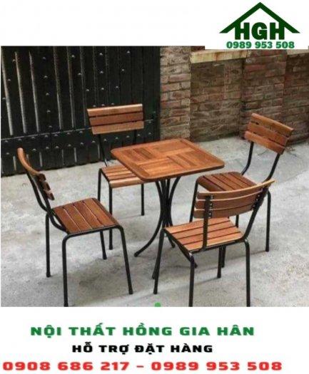 Bộ bàn ghế cafe HGH160