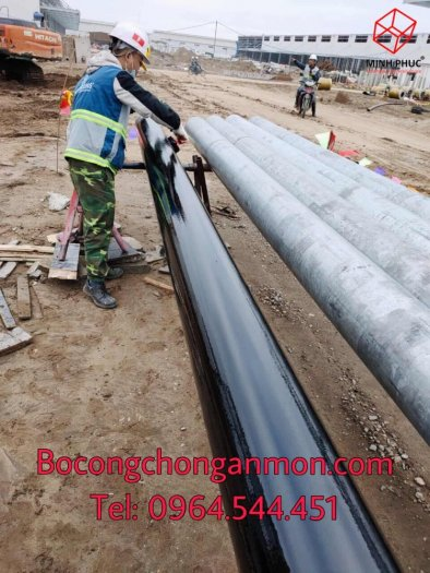 Keo quấn bitum ống ngầm Premcote Anh Quốc5